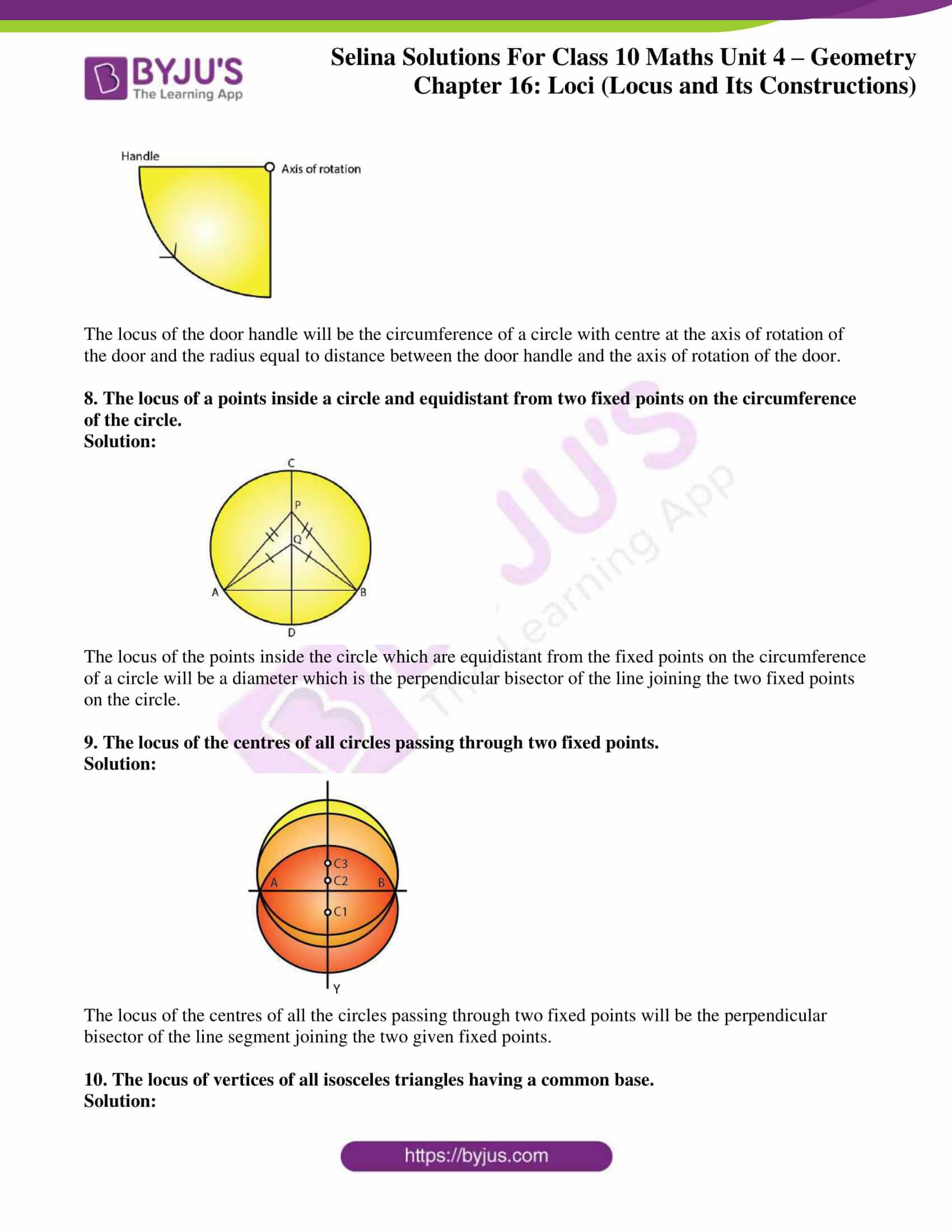 selina solution concise maths class 10 chapter 16 ex b 3