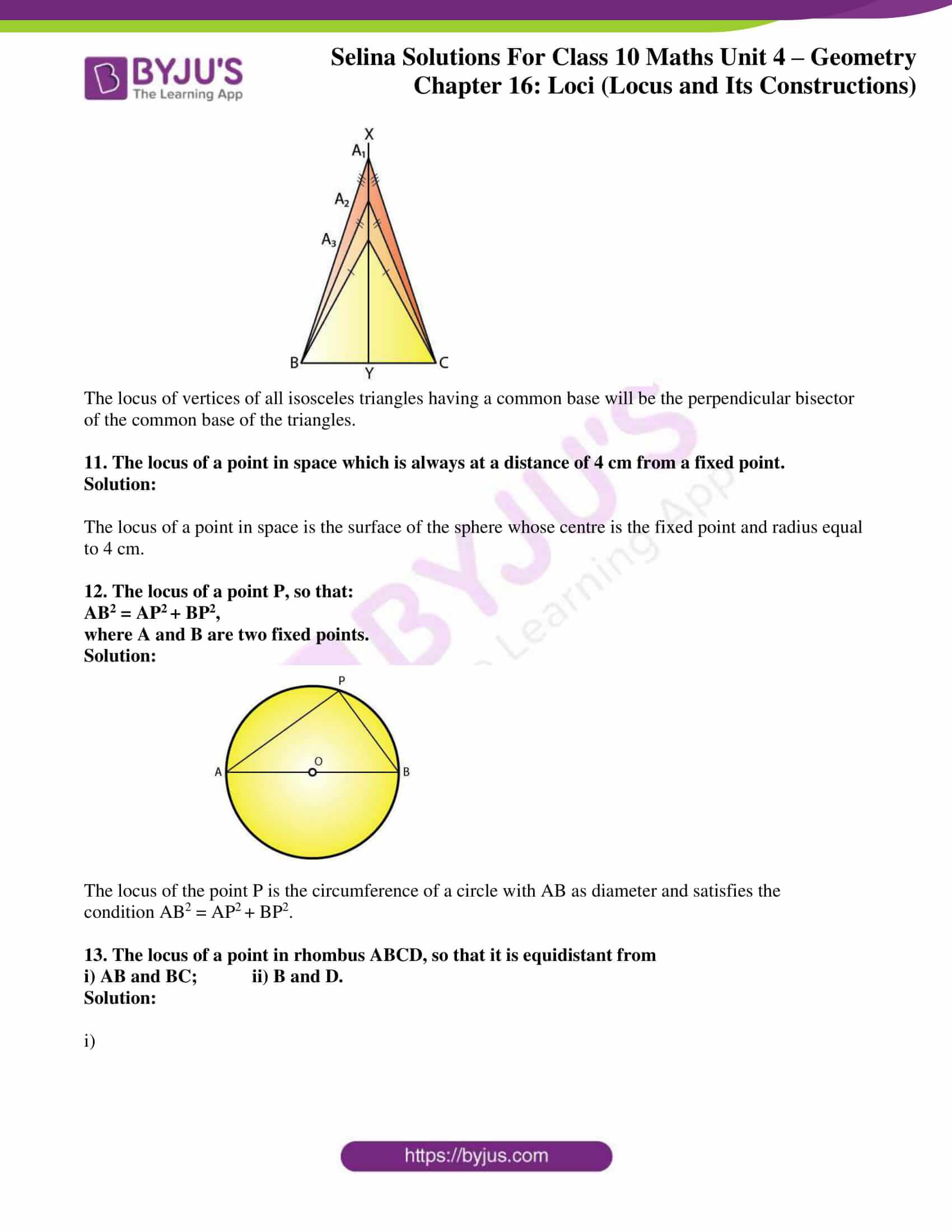 selina solution concise maths class 10 chapter 16 ex b 4