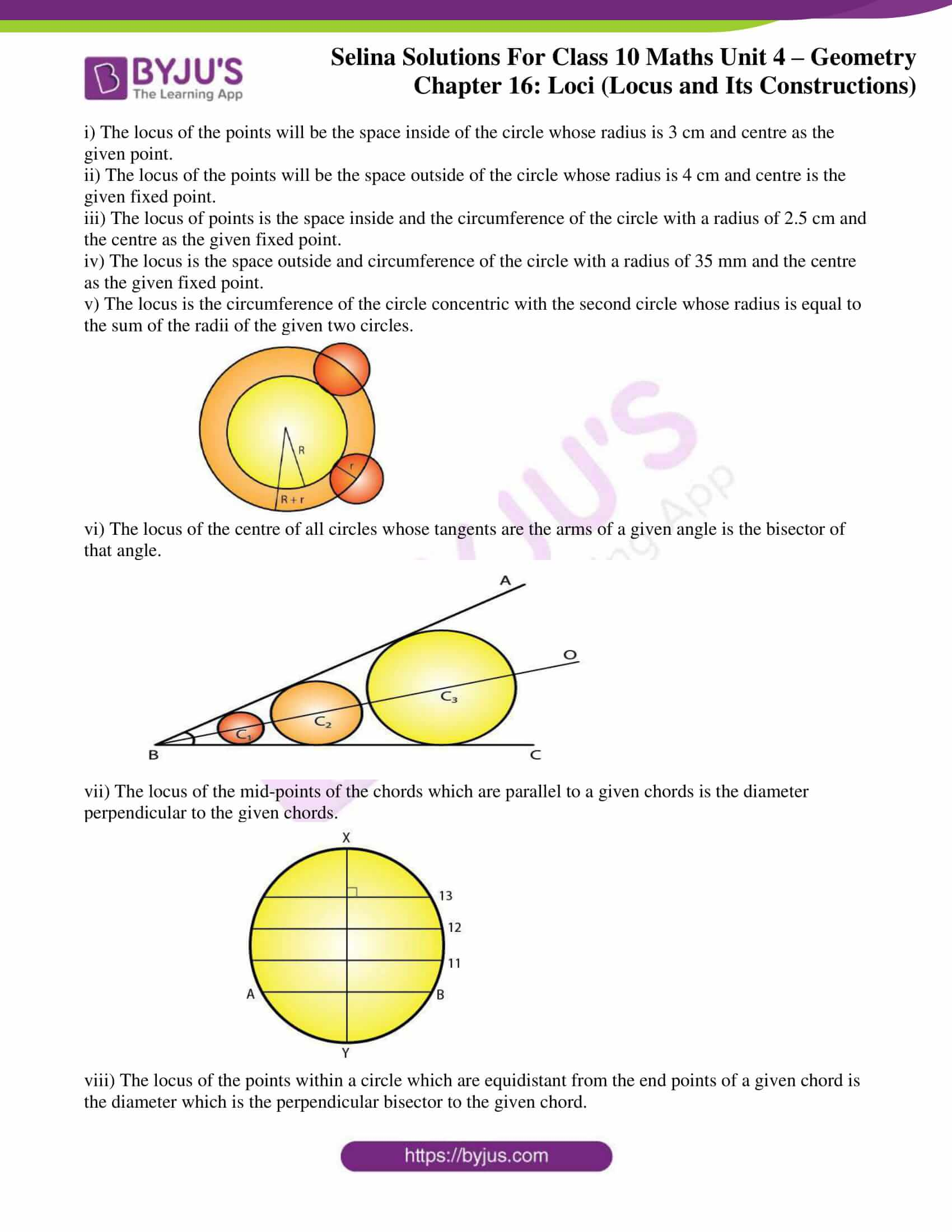 selina solution concise maths class 10 chapter 16 ex b 6