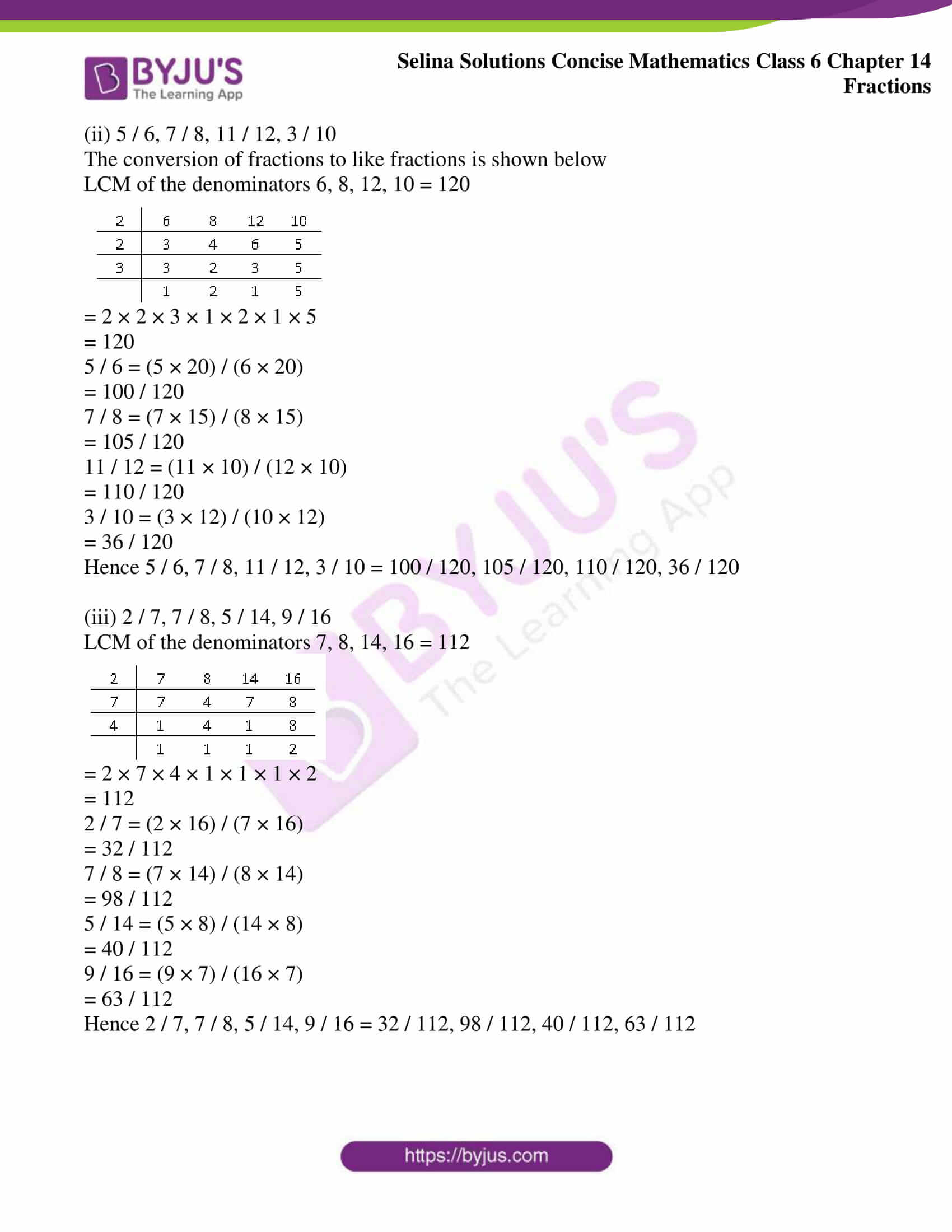 selina solution concise maths class 6 chapter 14 ex a 4