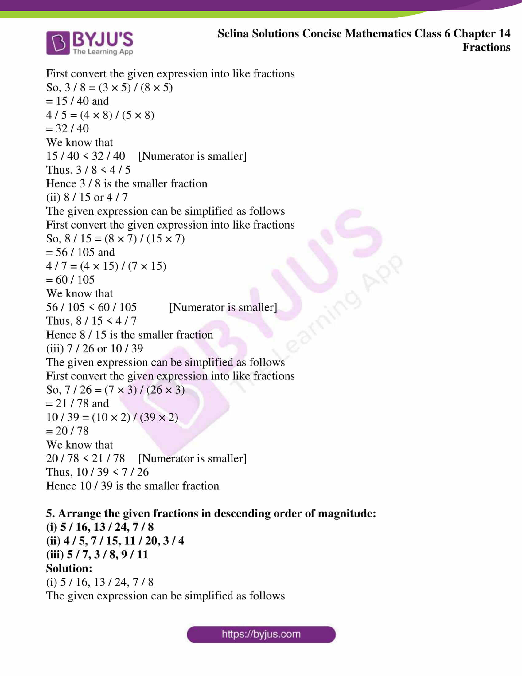 selina solution concise maths class 6 chapter 14 ex b 04