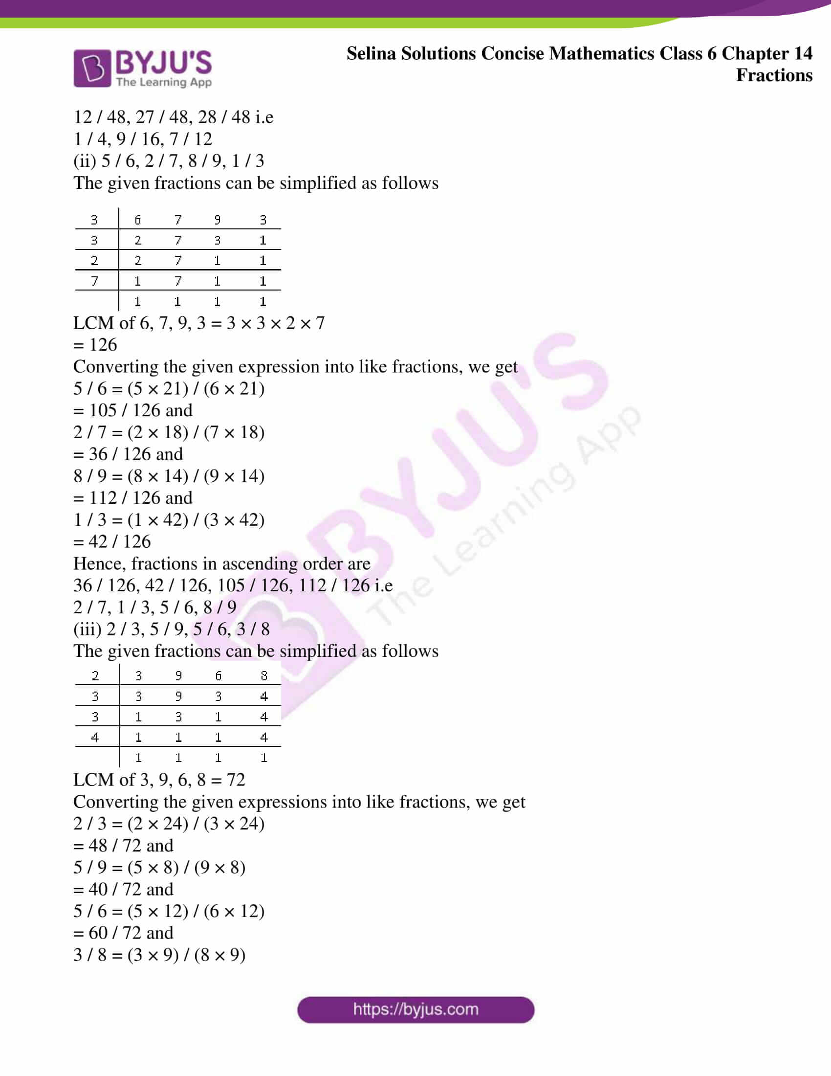 selina solution concise maths class 6 chapter 14 ex b 07