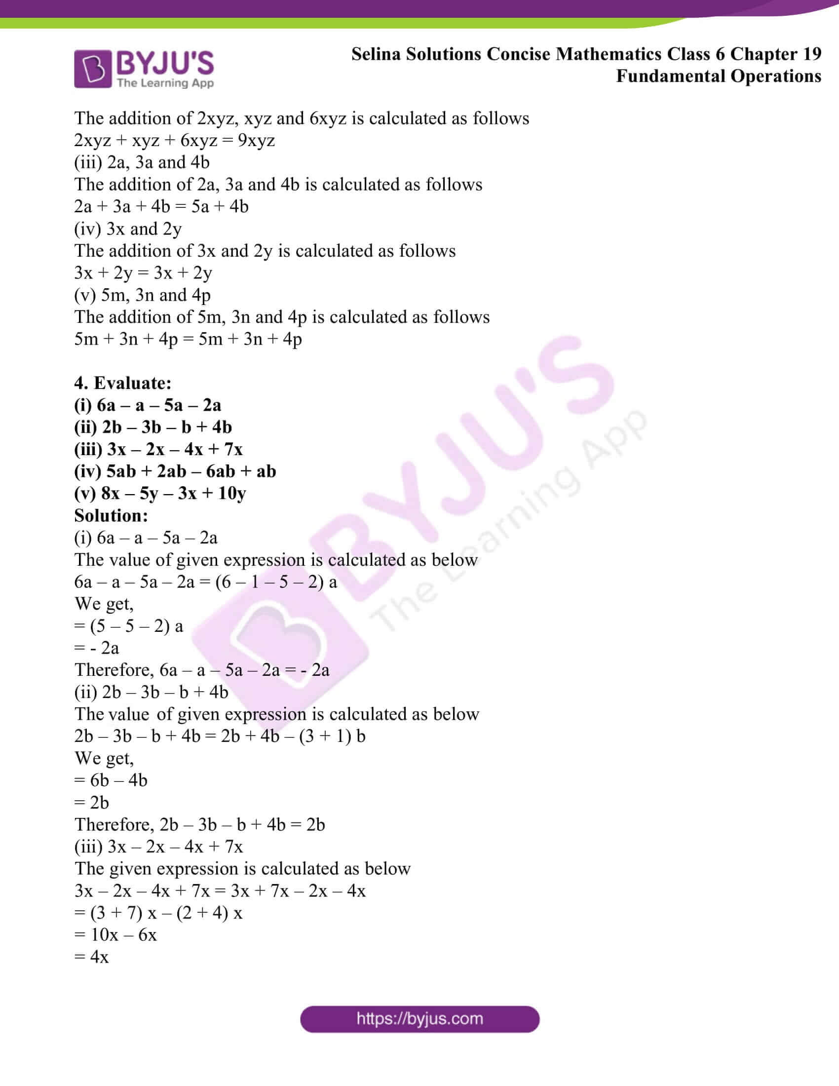 selina solutions concise math class 6 chapter 19 ex a 2