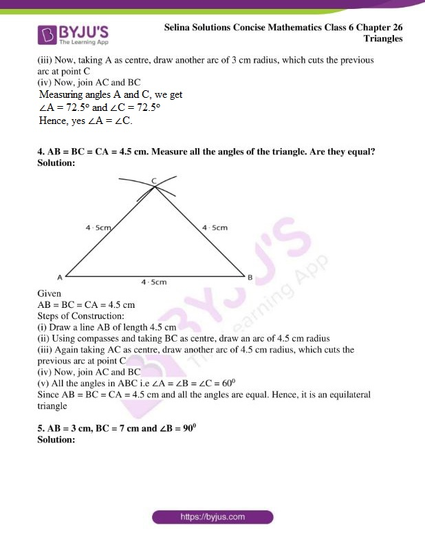selina solutions concise mathematics class 6 chapter 26 ex b 3