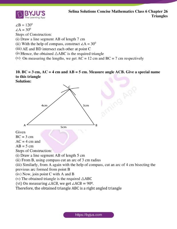 selina solutions concise mathematics class 6 chapter 26 ex b 7