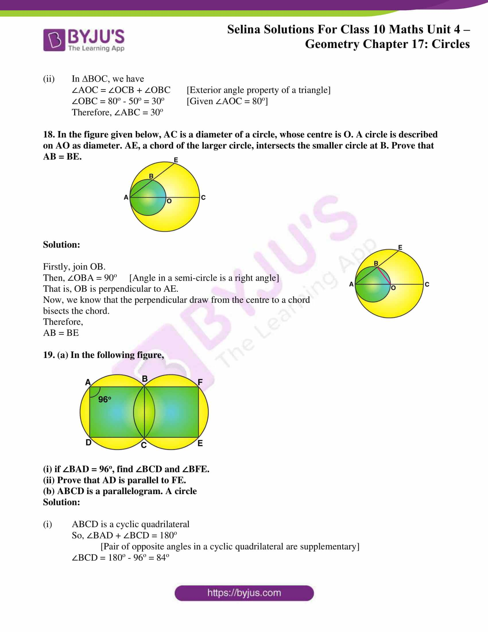Selina Solution Maths Class 10 Chapter Exercise A 10