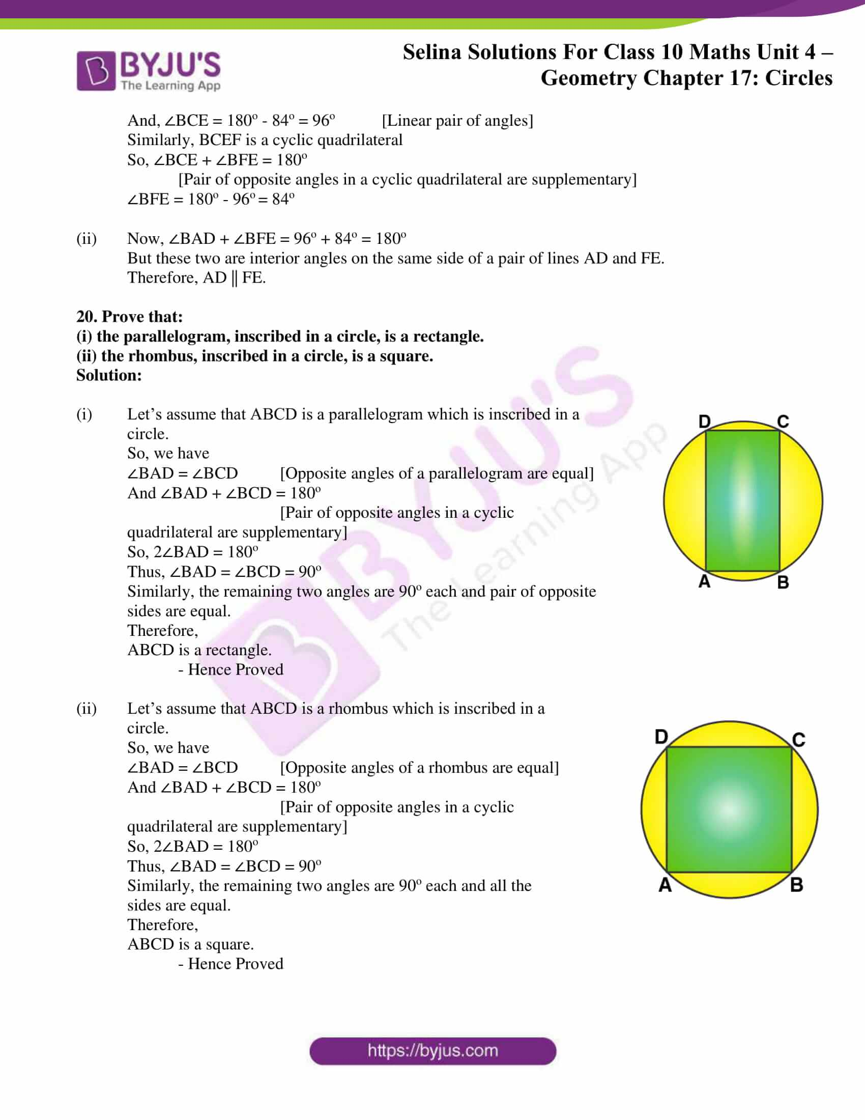 Selina Solution Maths Class 10 Chapter Exercise A 11