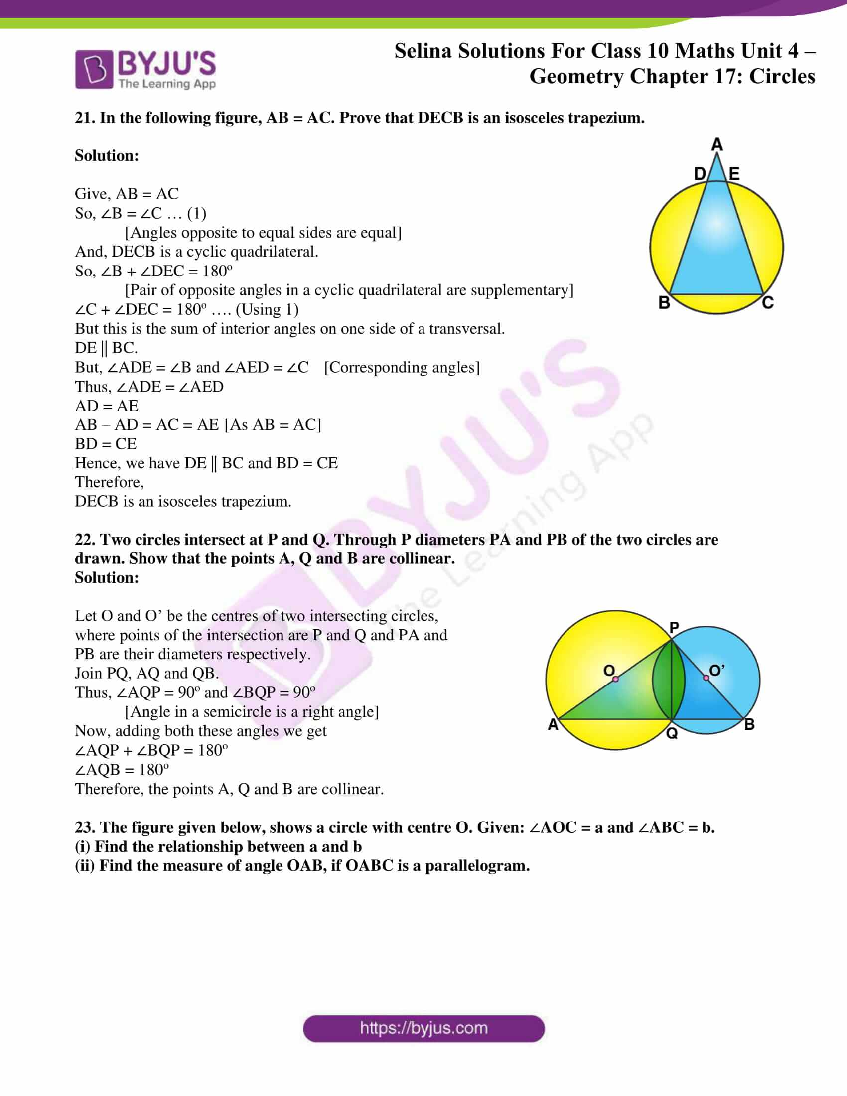 Selina Solution Maths Class 10 Chapter Exercise A 12