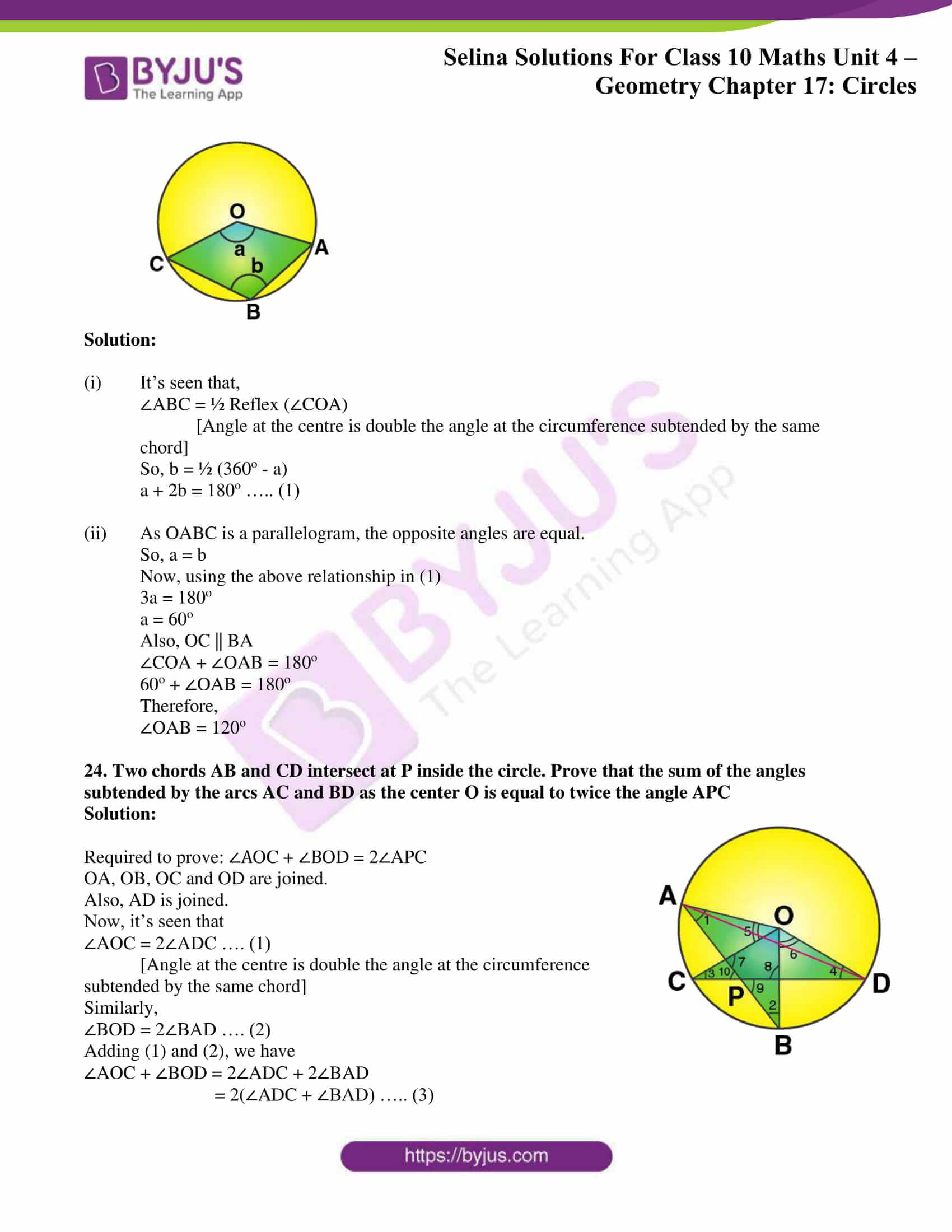 Selina Solution Maths Class 10 Chapter Exercise A 13