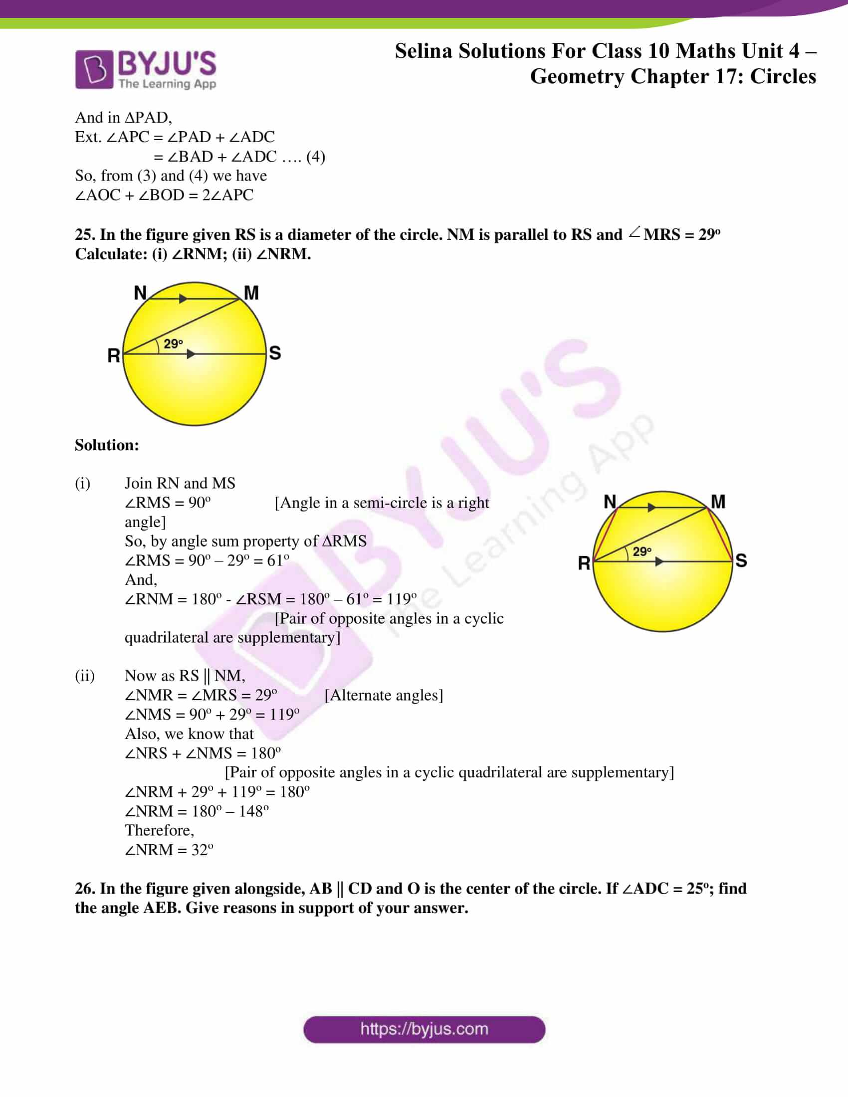 Selina Solution Maths Class 10 Chapter Exercise A 14
