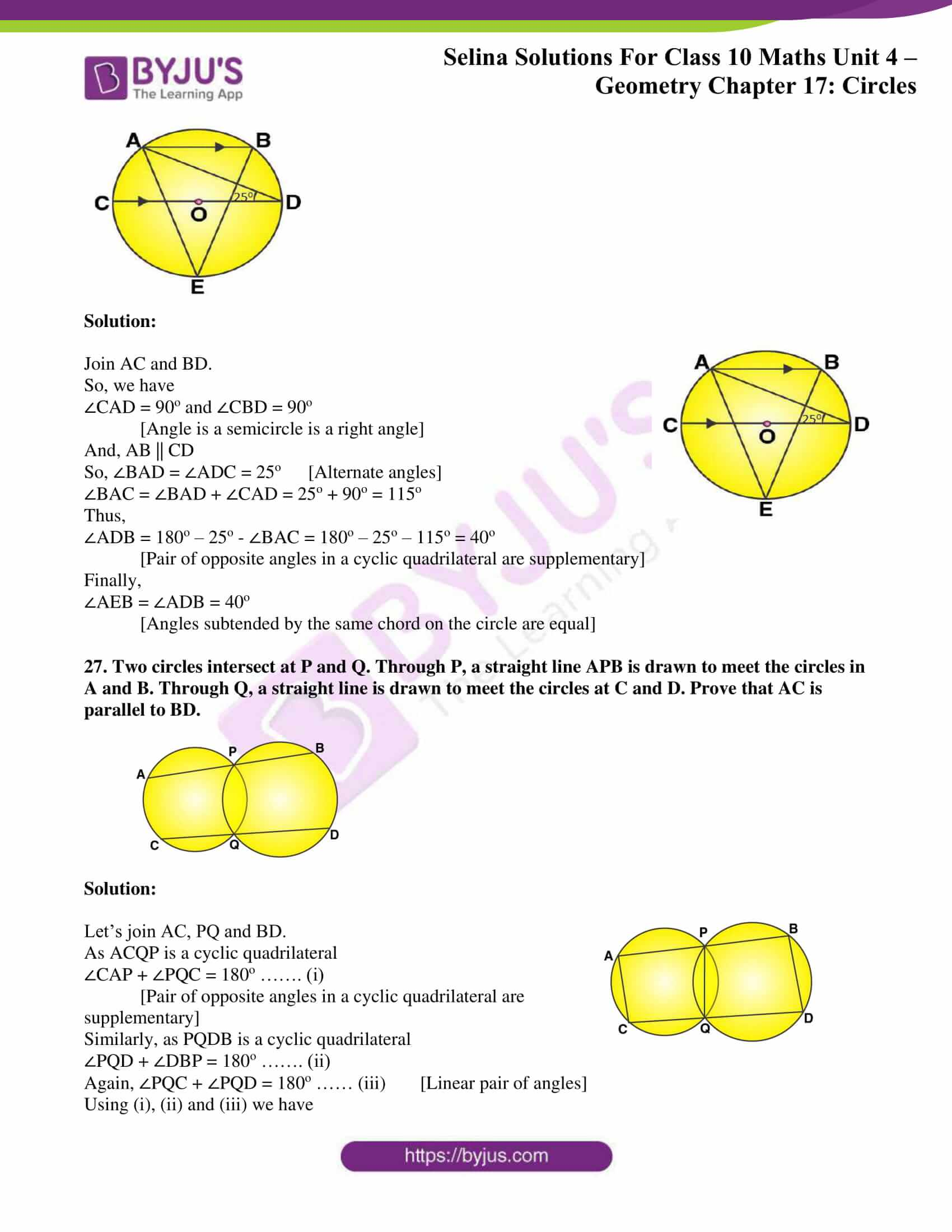 Selina Solution Maths Class 10 Chapter Exercise A 15
