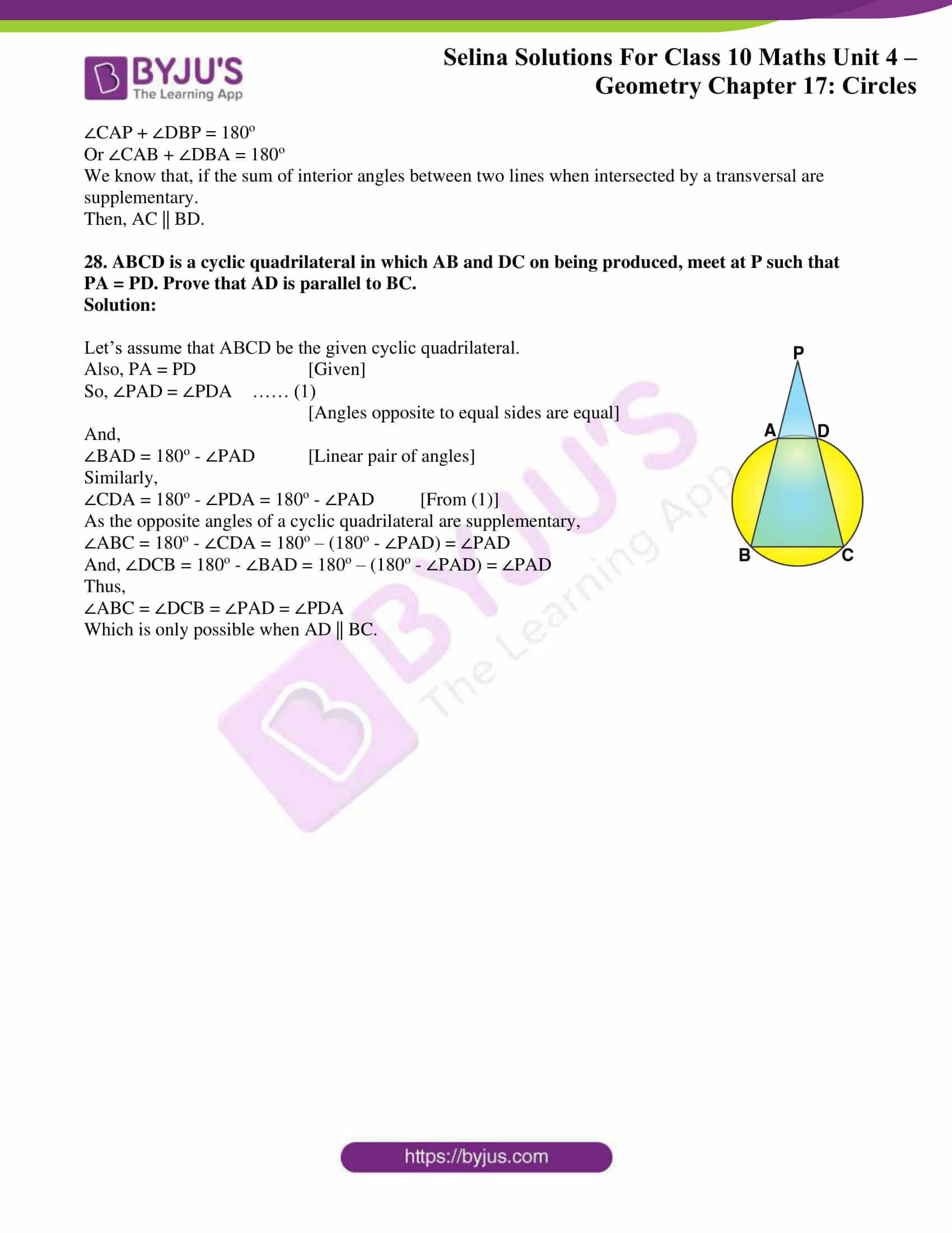 Selina Solution Maths Class 10 Chapter Exercise A 16