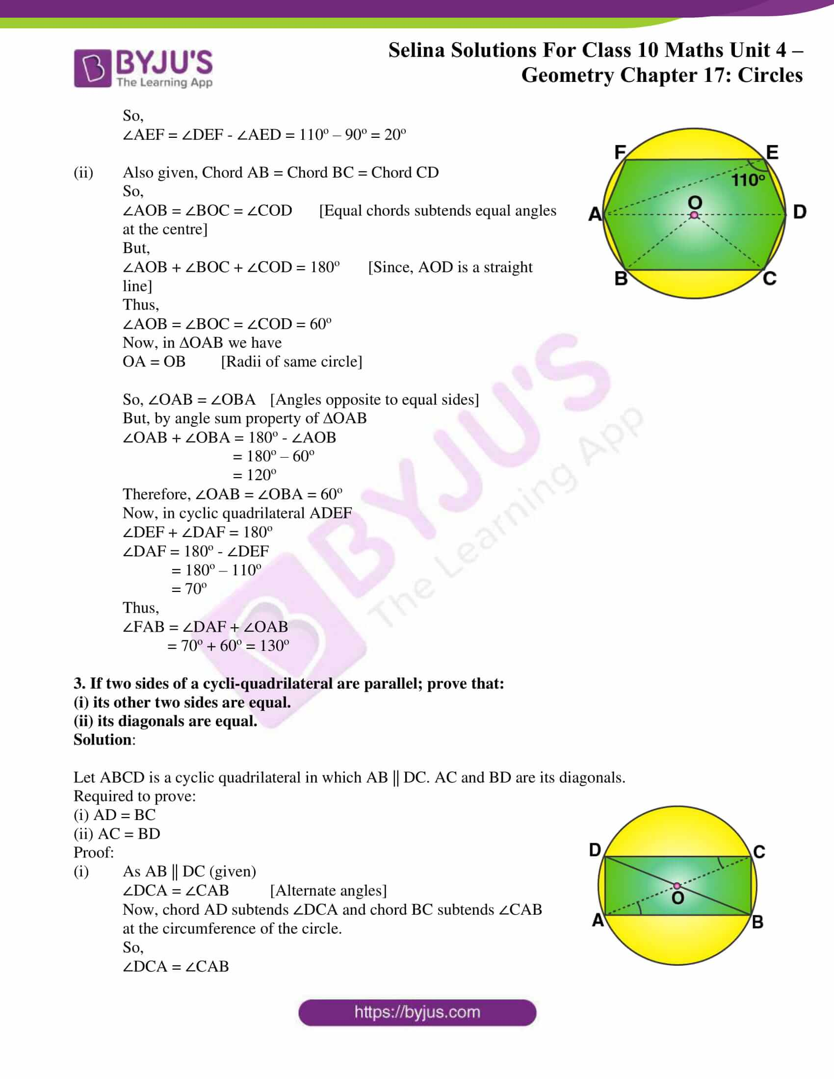 Selina Solution Maths Class 10 Chapter Exercise B 2