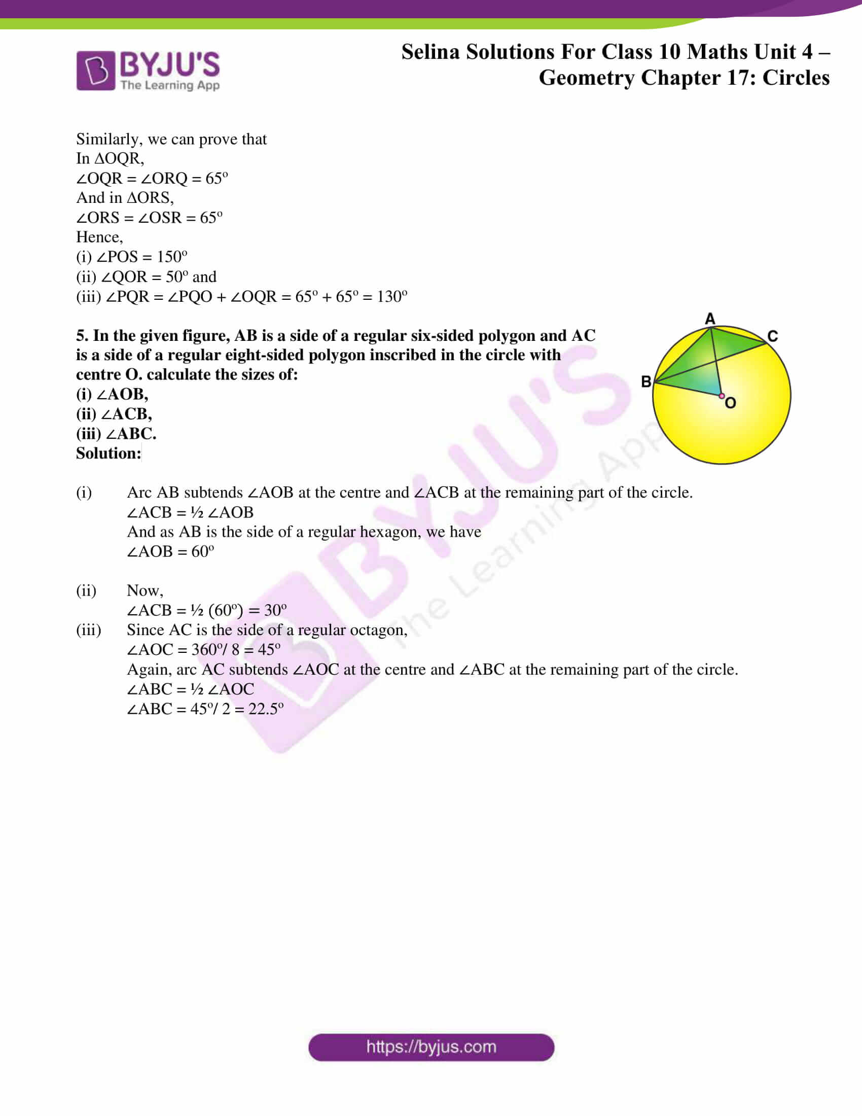 Selina Solution Maths Class 10 Chapter Exercise B 4
