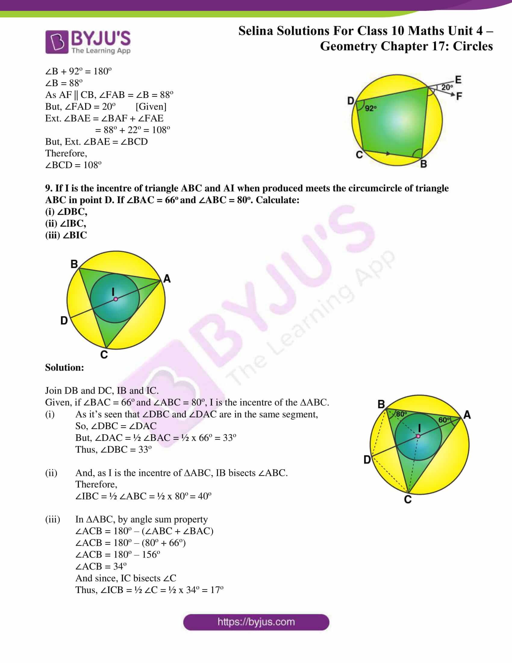 Selina Solution Maths Class 10 Chapter Exercise C 6