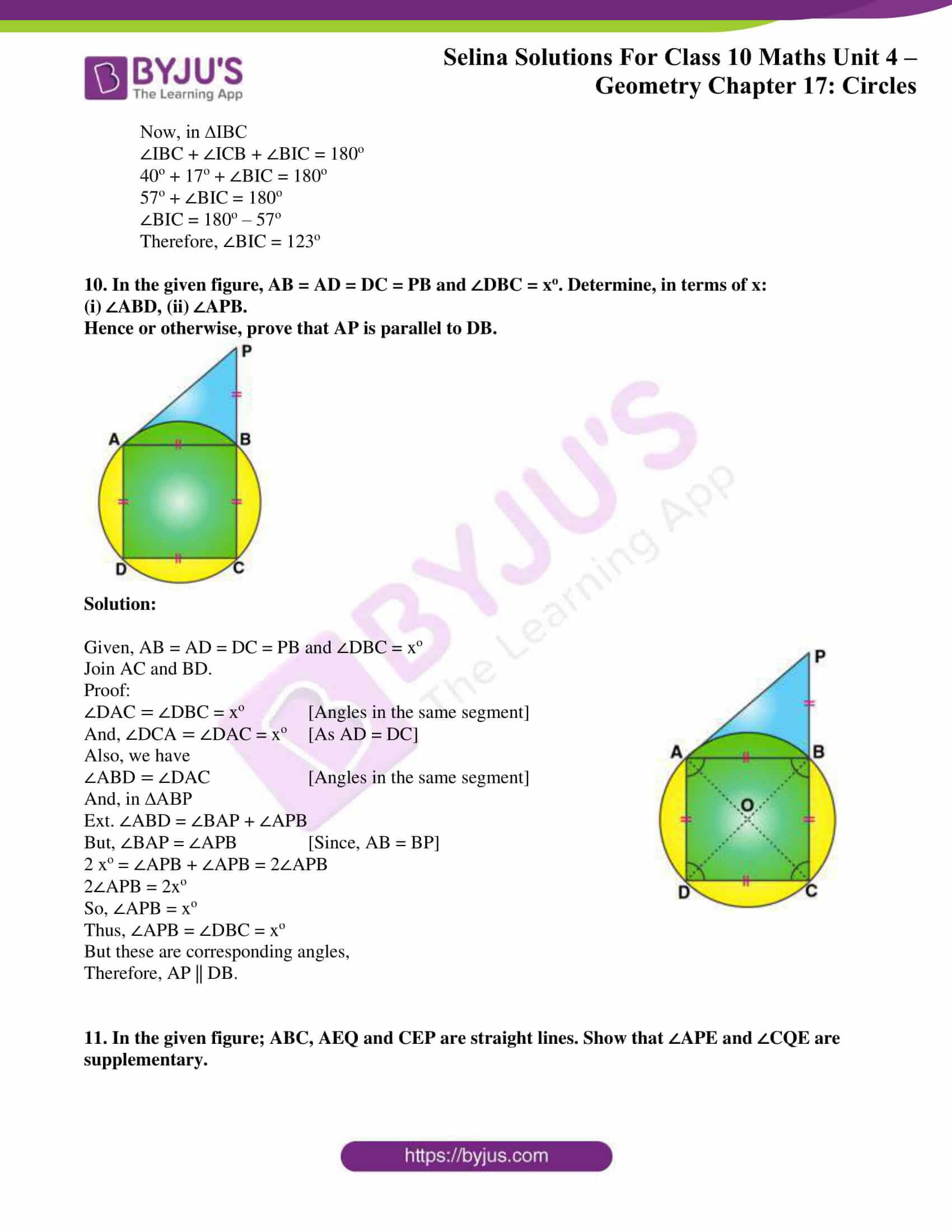 Selina Solution Maths Class 10 Chapter Exercise C 7