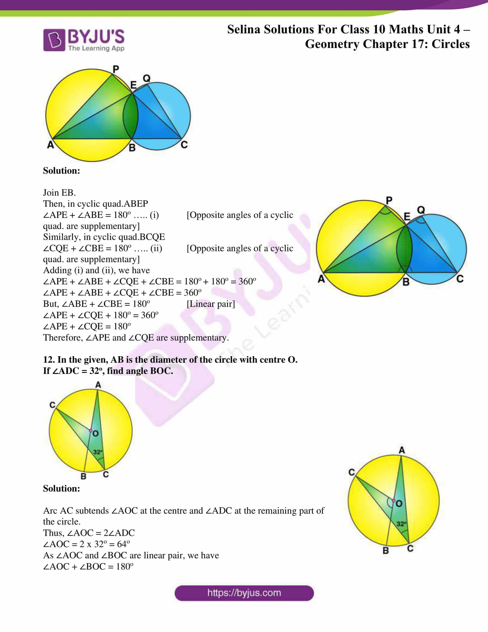 Selina Solution Maths Class 10 Chapter Exercise C 8