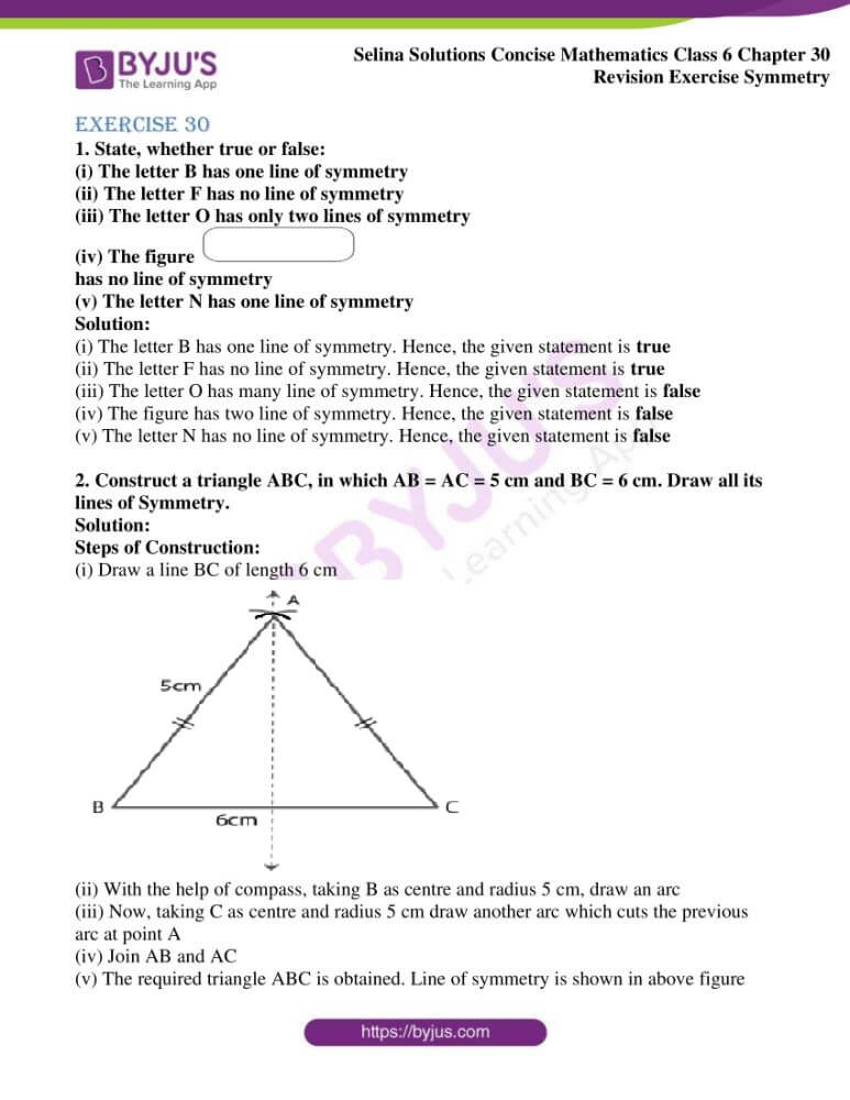 selina solutions for concise mathematics class 6 chapter 30 01