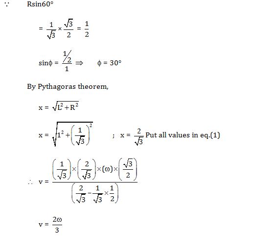 Solutions for KVPY SX 2017 Physics