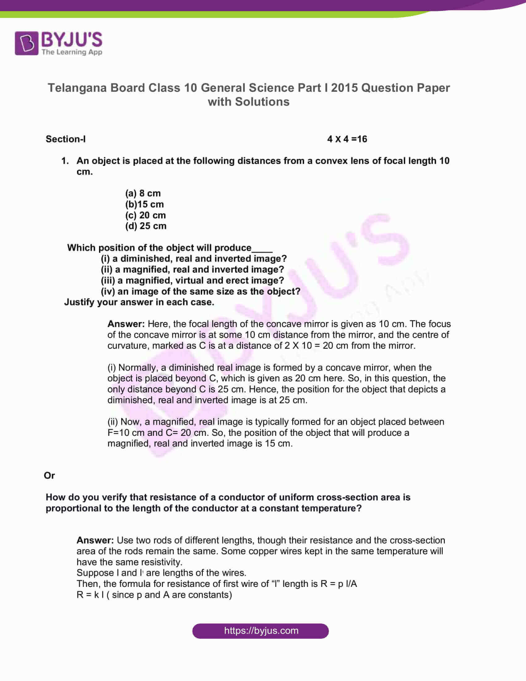 telangana board nov2020 class 10 science part i solutions 2015 01