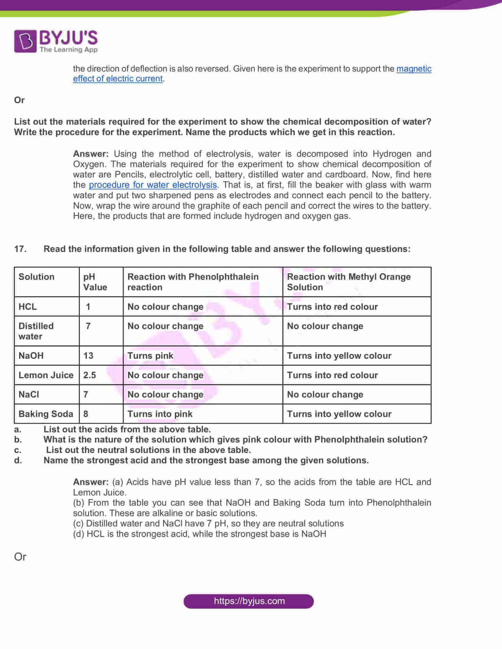 telangana board nov2020 class 10 science part i solutions 2016 6