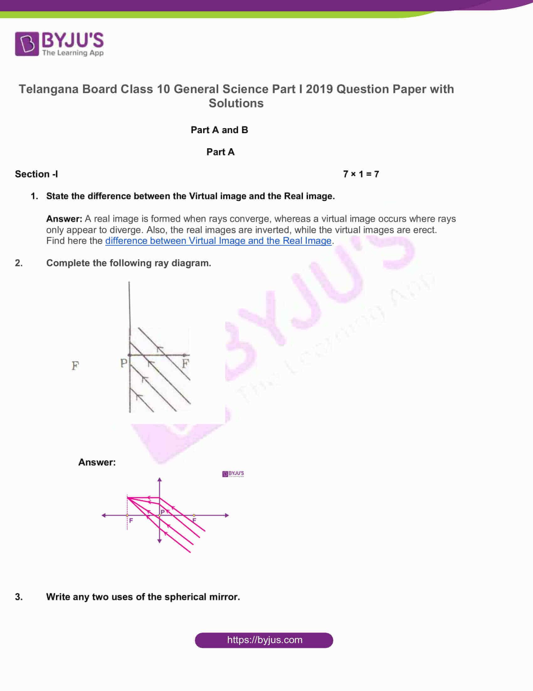 telangana board nov2020 class 10 science part i solutions 2019 1