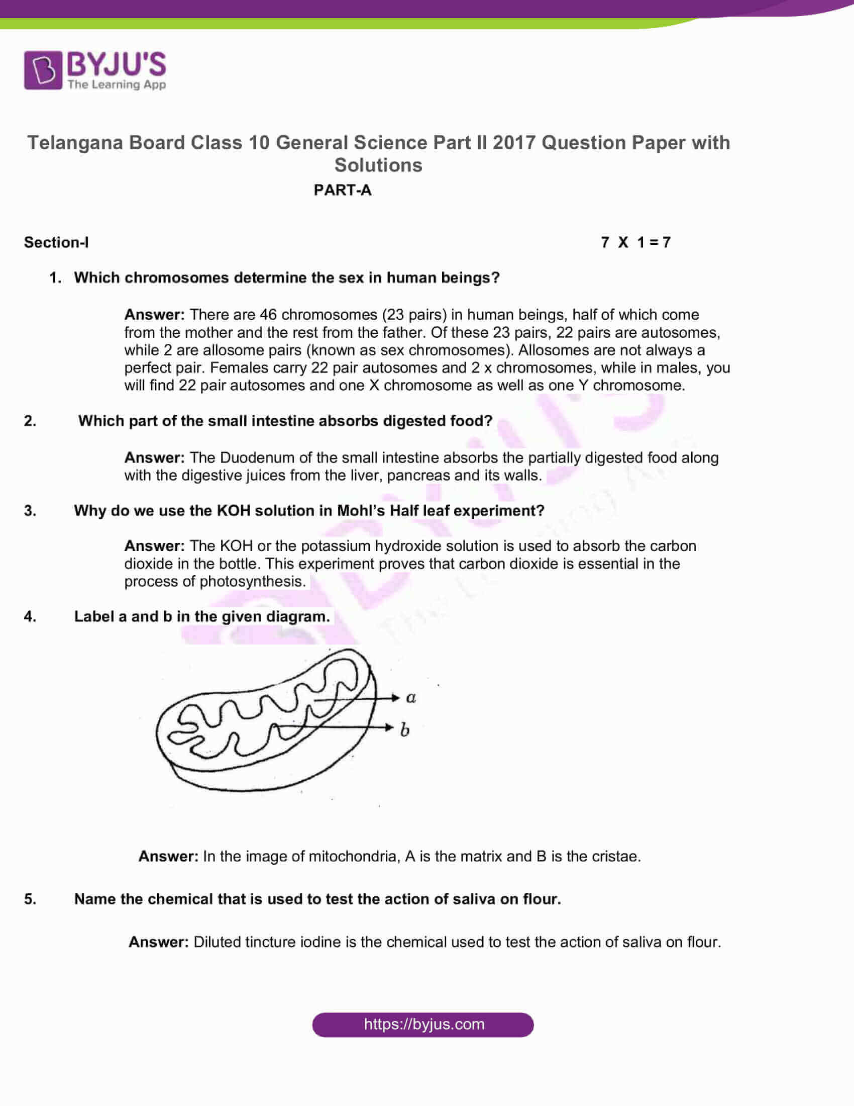 telangana board nov2020 class 10 science part ii solutions 2017 1