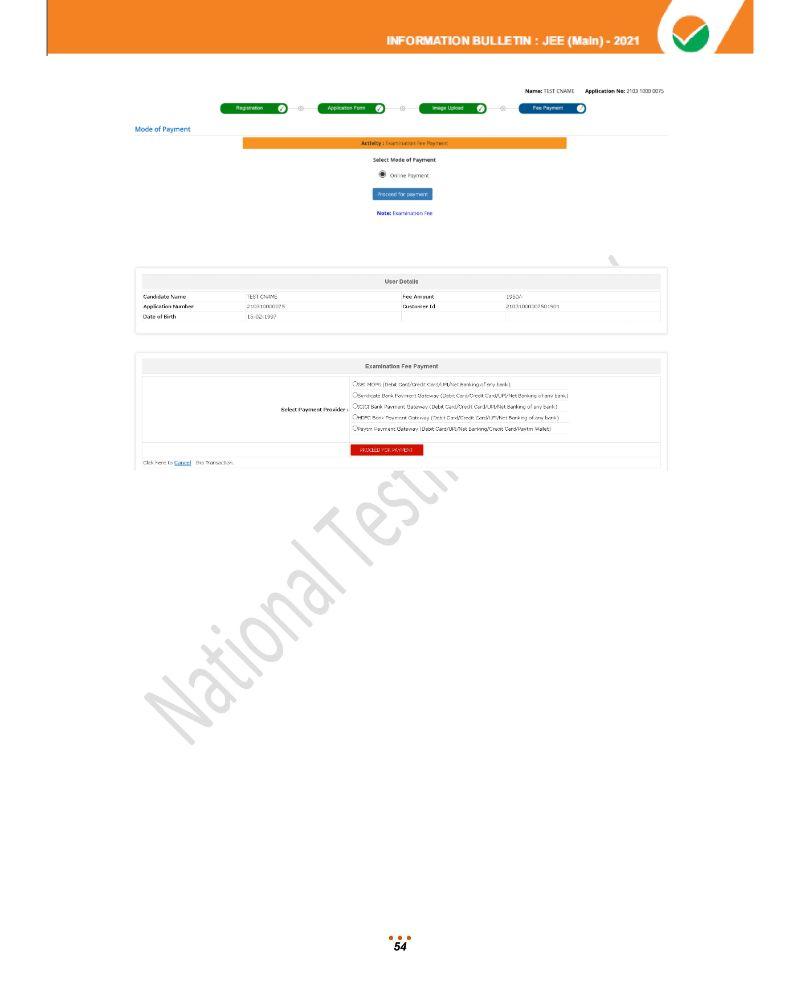 JEE Main 2021 Information Brochure 56