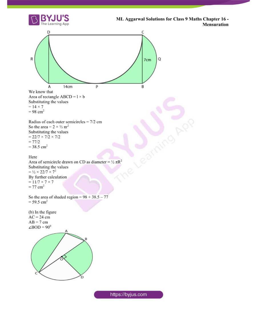 ML Aggarwal Solutions for Class 9 Maths Chapter 16 Mensuration 101