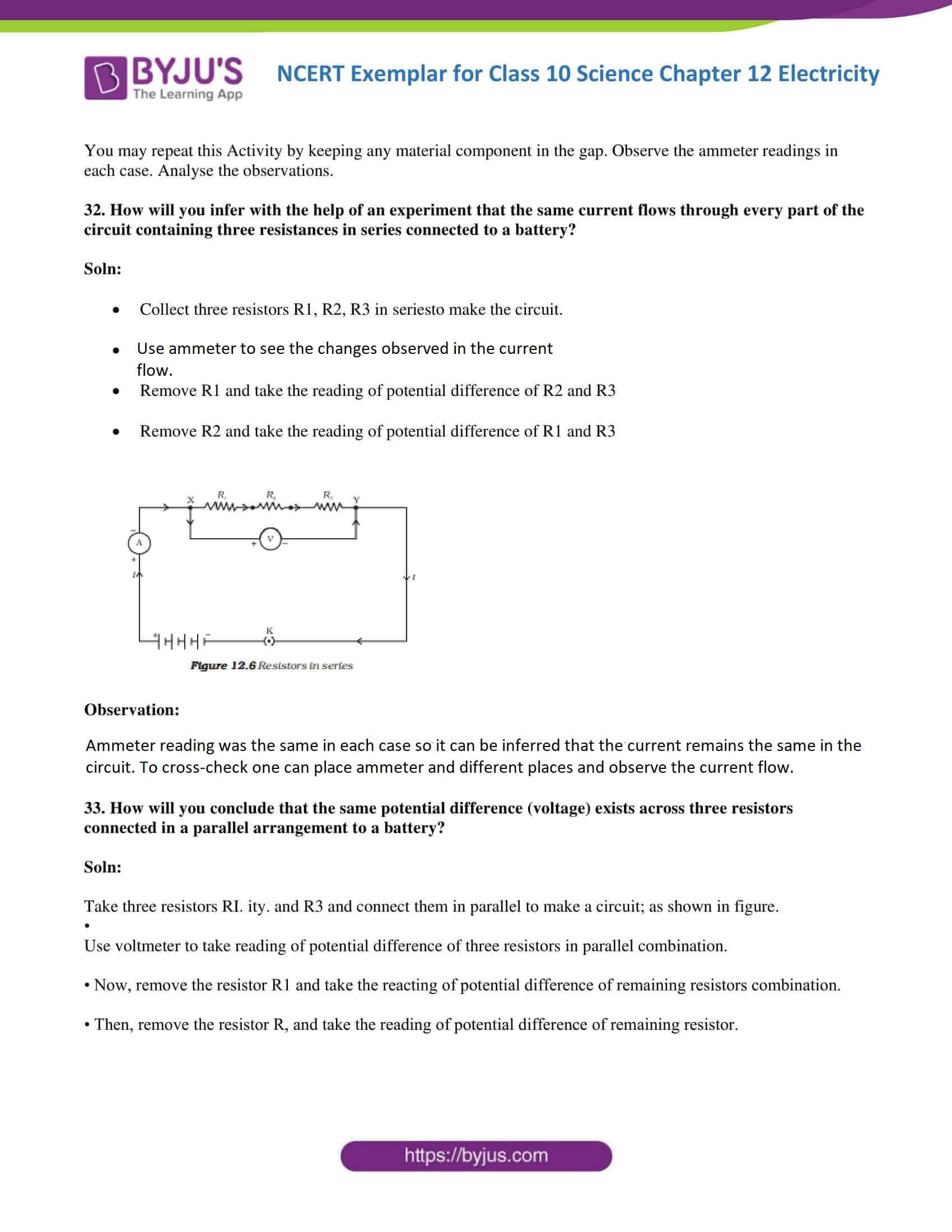 NCERT Exemplar solutions class 10 science Chapter 12 part 16