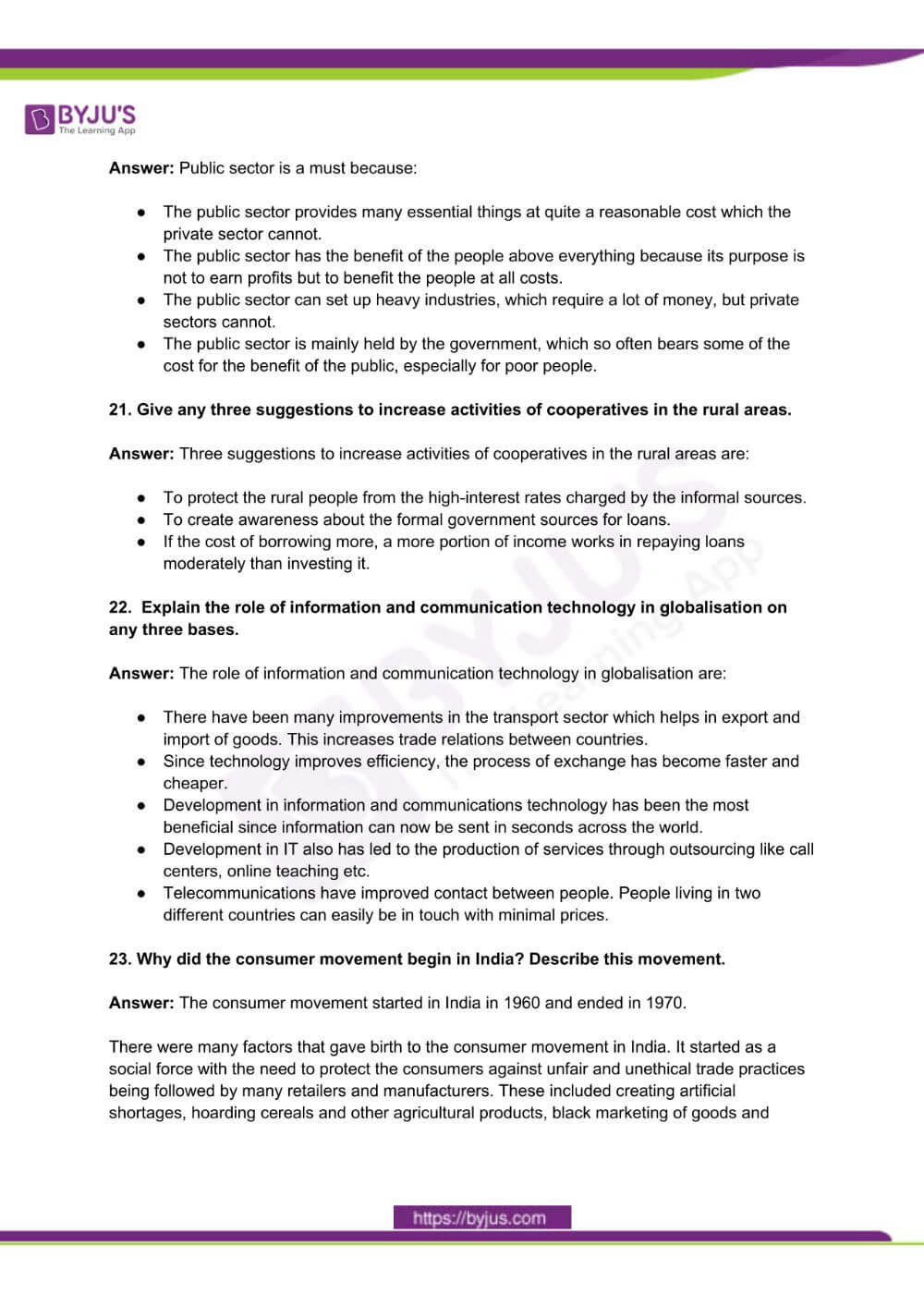 RBSE Class 10 Social Science Question Paper Solutions 2015 PDF 4