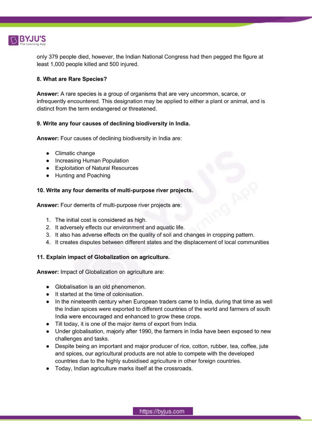 RBSE Class 10 Social Science Question Paper Solutions 2017 PDF 1