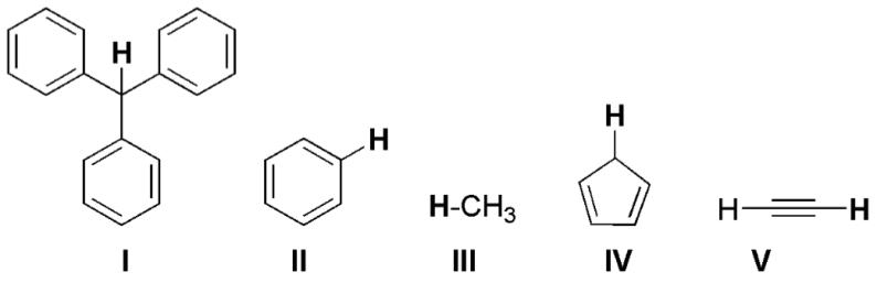 Compounds I-V