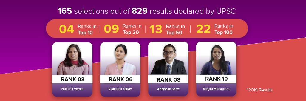 UPSC Rank Holders
