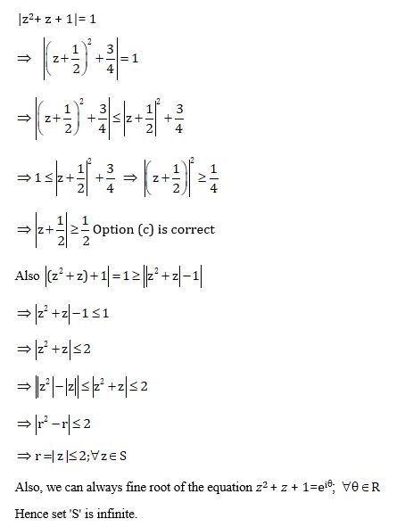 JEE Advanced Paper 1 Maths Question 9 Solution