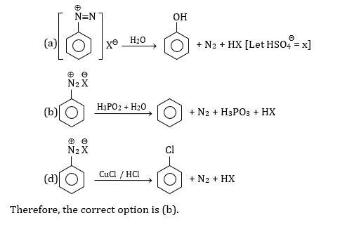 KVPY SX 2016 Chemistry Question 10 Solution