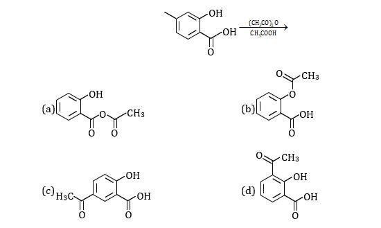 KVPY SX 2016 Chemistry Question 12 Options