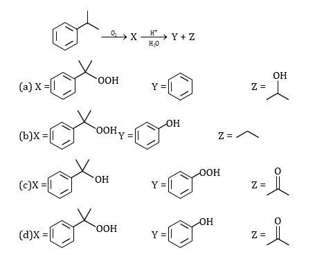 KVPY SX 2016 Chemistry Question 21 Options