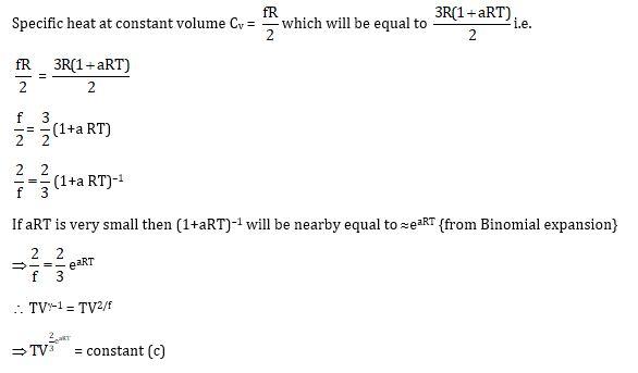 KVPY SX 2016 Physics Question 27 Solution