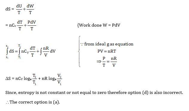 KVPY SX 2016 Physics Question 3 Solution