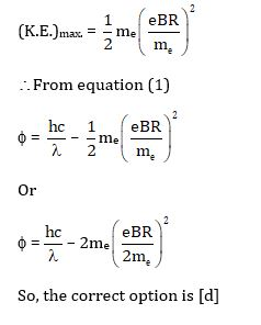 KVPY SX 2016 Physics Question 4 Solution