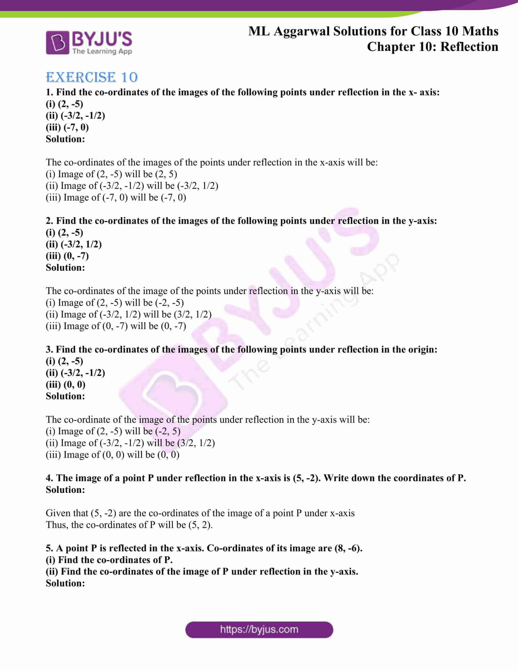 ml aggarwal solutions class 10 maths chapter 10 01