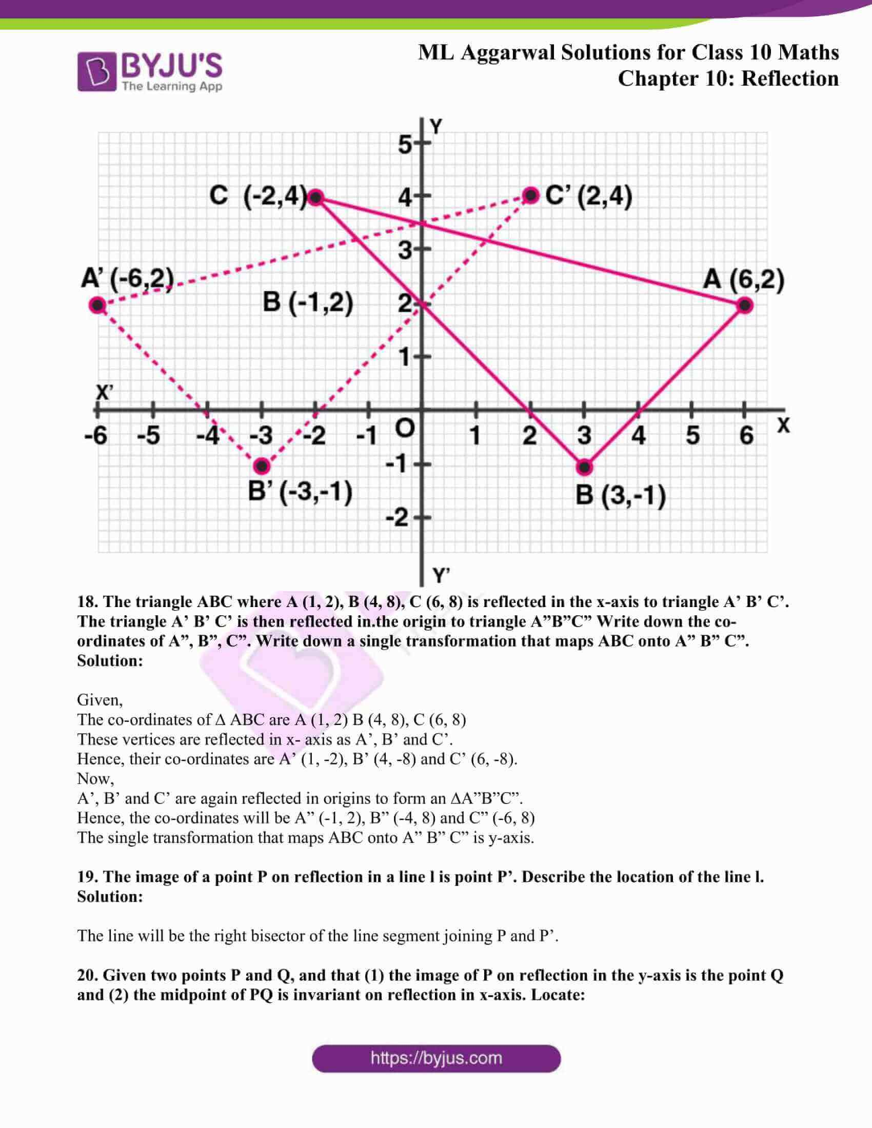 ml aggarwal solutions class 10 maths chapter 10 11
