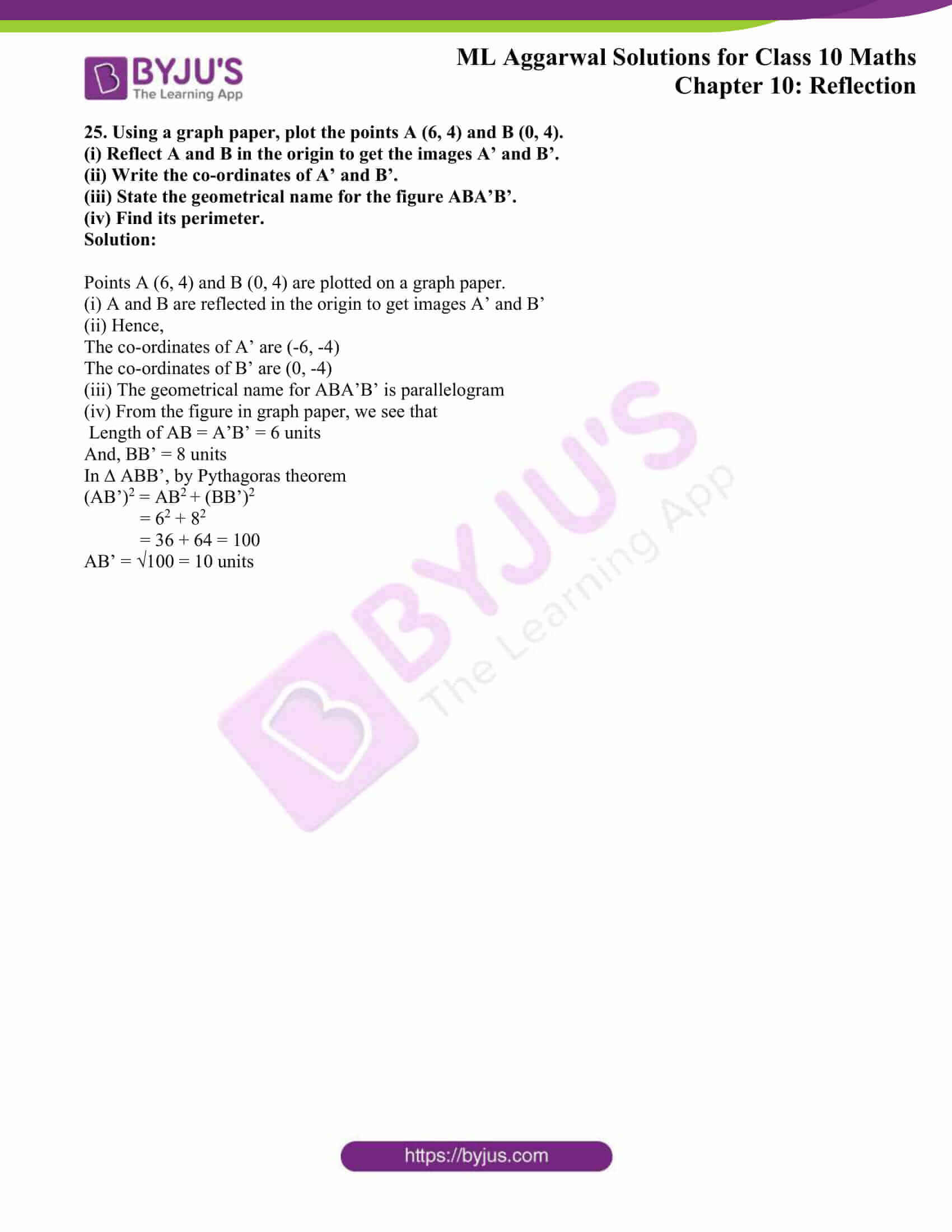 ml aggarwal solutions class 10 maths chapter 10 17