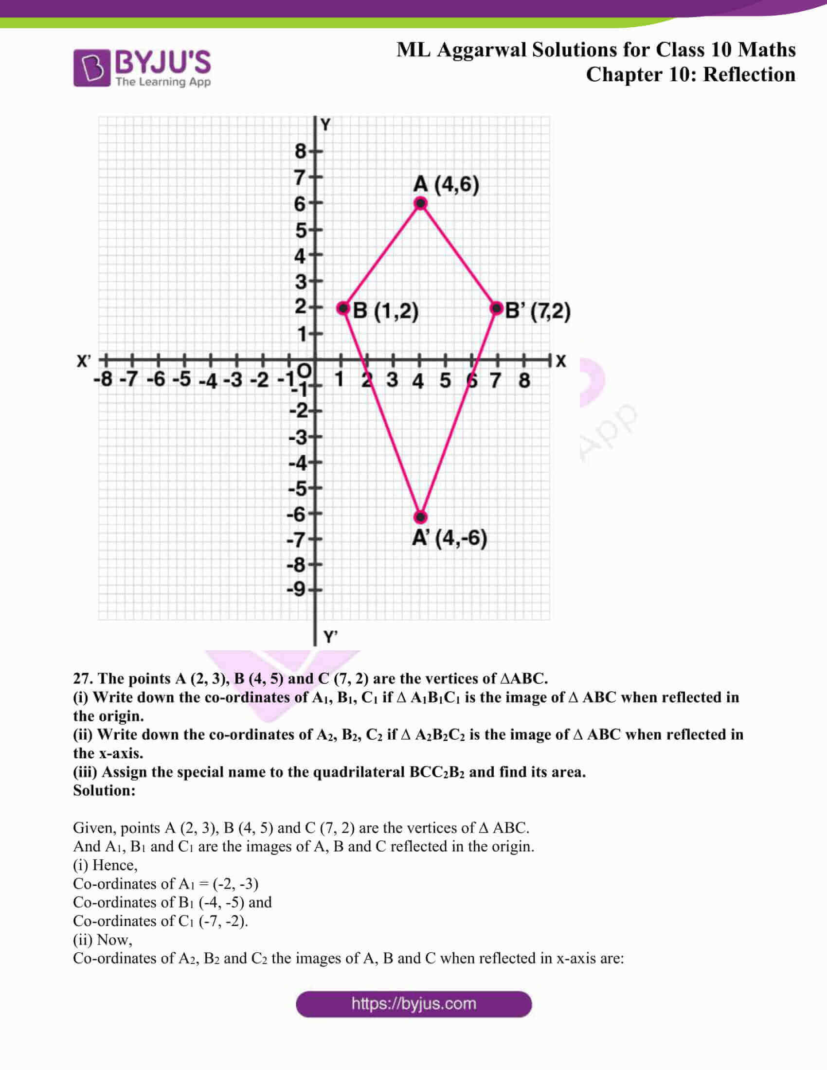ml aggarwal solutions class 10 maths chapter 10 19