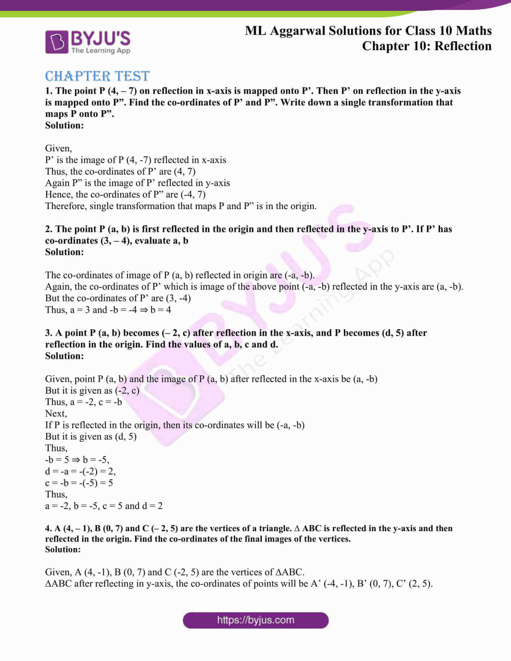 ml aggarwal solutions class 10 maths chapter 10 23