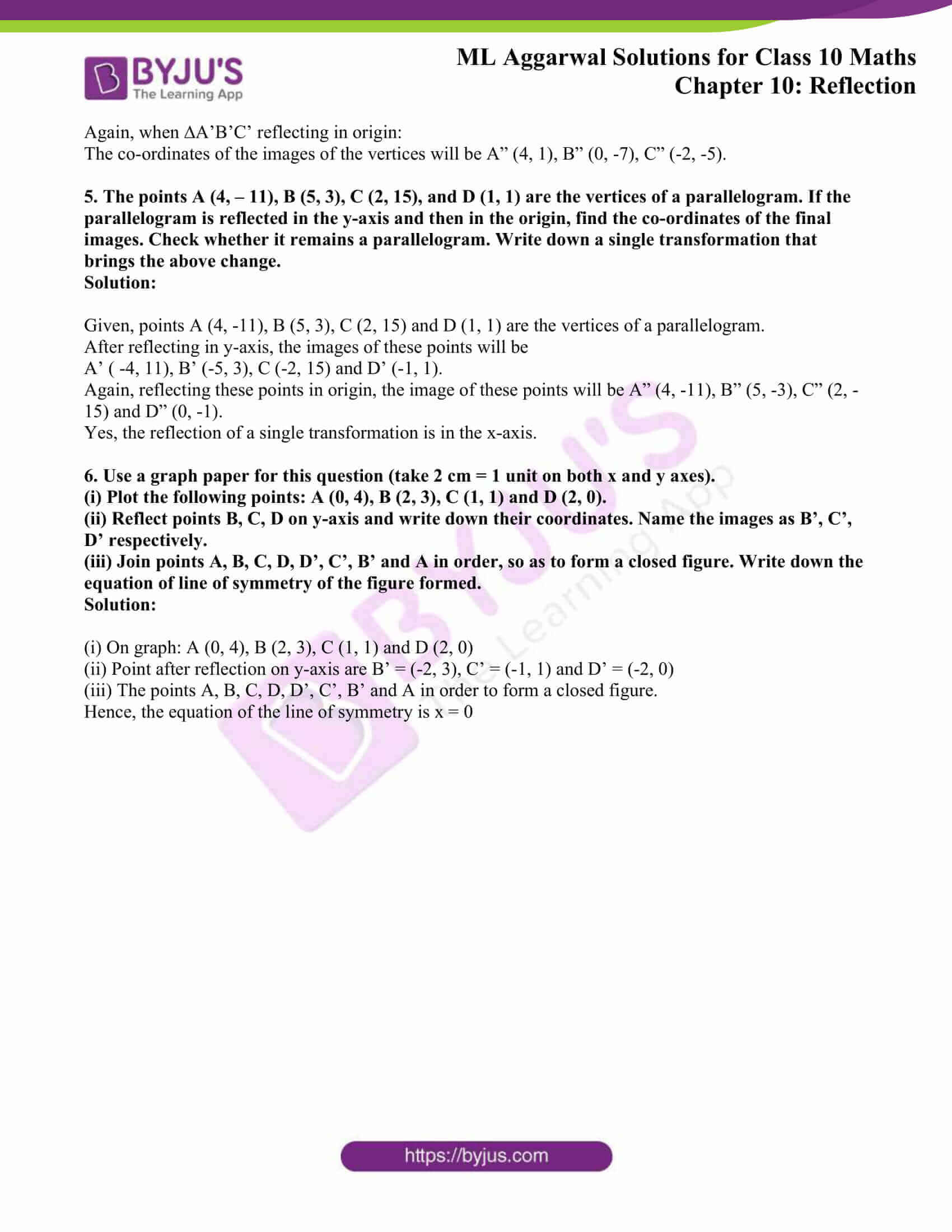 ml aggarwal solutions class 10 maths chapter 10 24