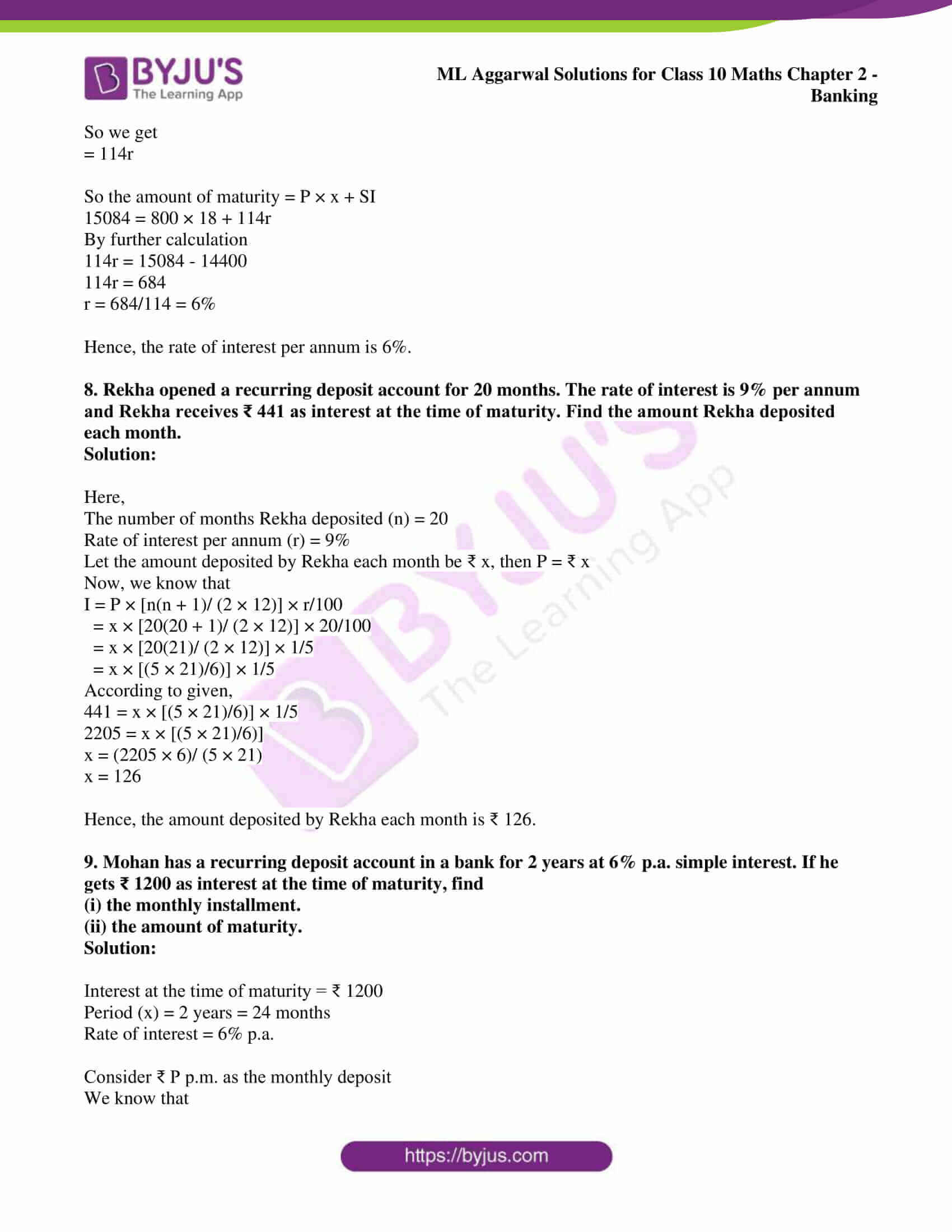 ml aggarwal solutions class 10 maths chapter 2 05