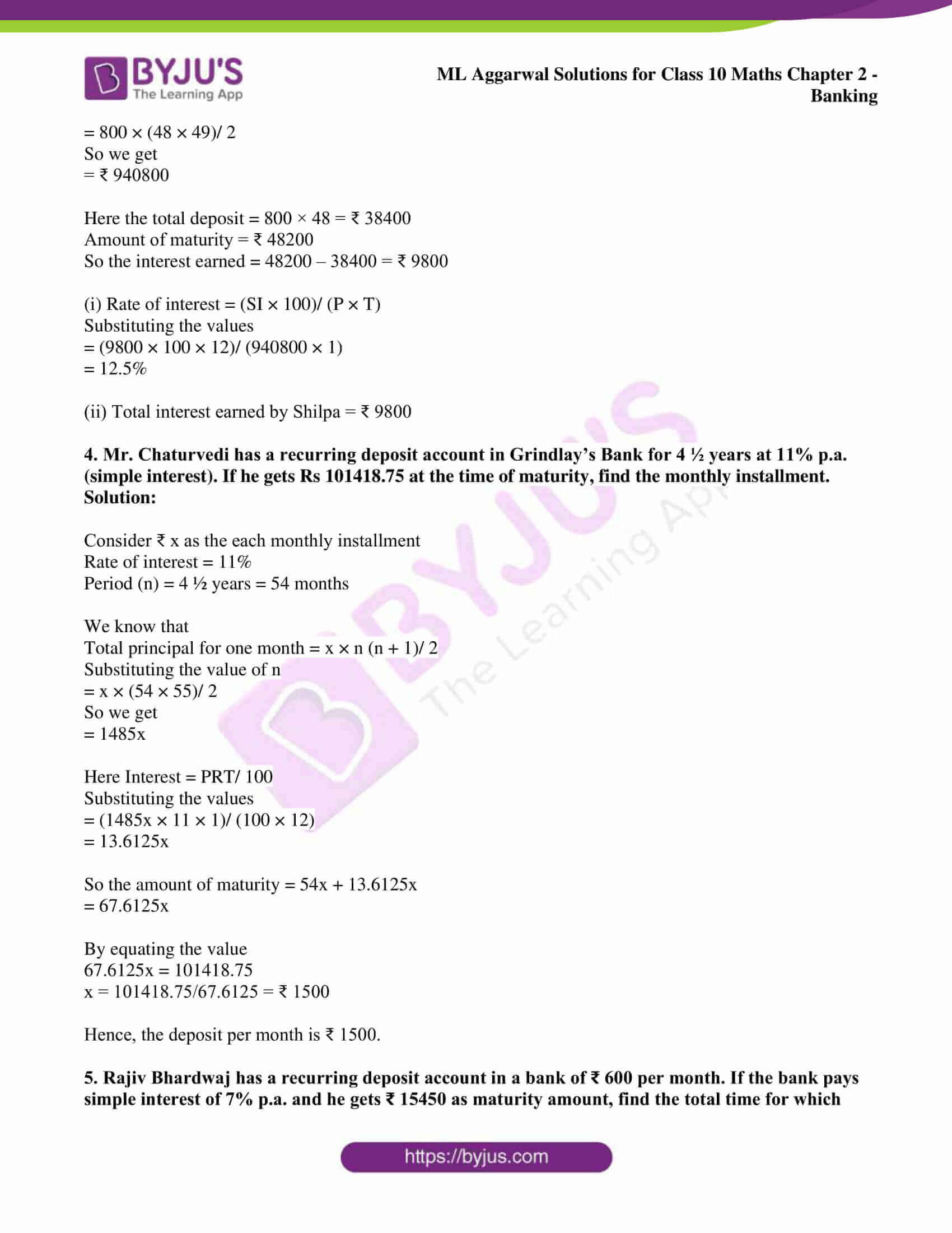 ml aggarwal solutions class 10 maths chapter 2 10