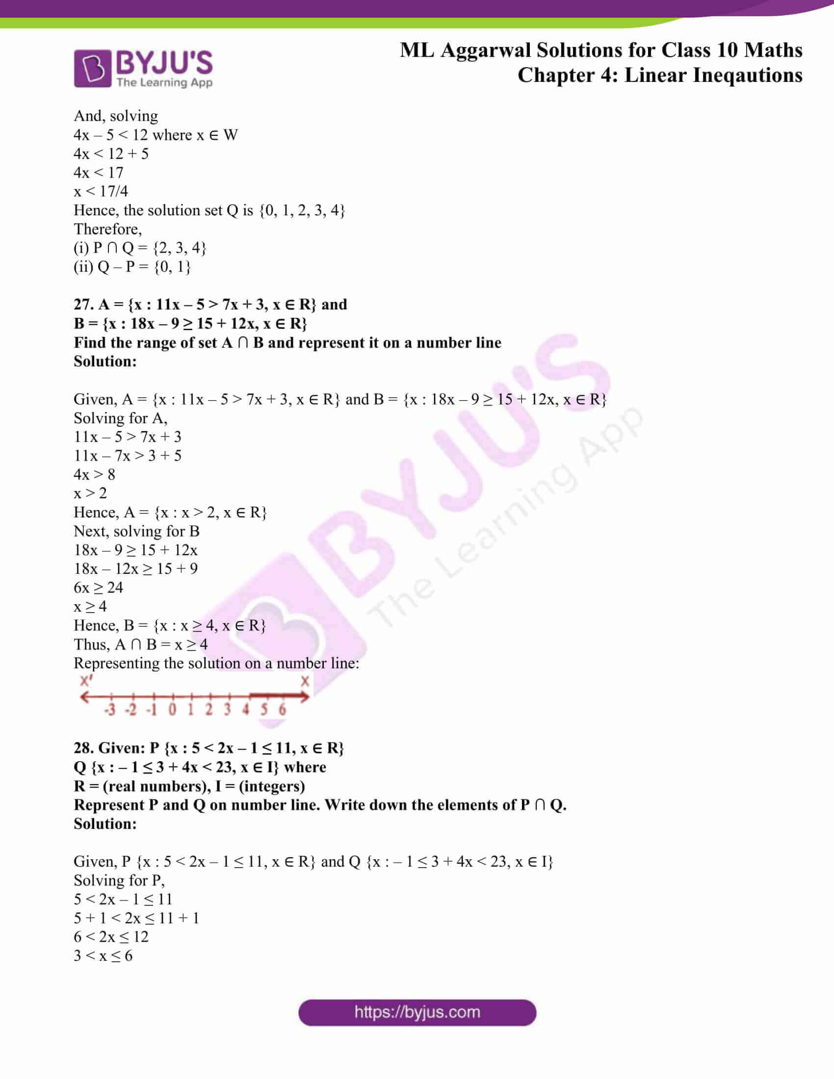 ml aggarwal solutions class 10 maths chapter 4 10
